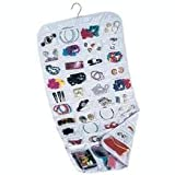 Household Essentials 80-Pocket Hanging Jewelry and Accessories Organizer – $11.88!