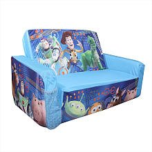 Disneypixar Toy Story 3d Flip Open Slumber Sofa by Marshmallow - Spin Master