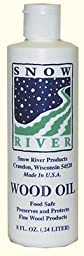 Snow River Wood Oil, 8 oz