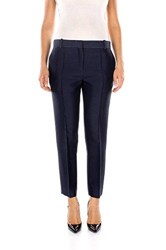 490121G140NKC01-Cline-Pantalons-Femme-Laine-Bleu