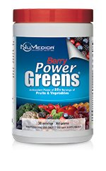 NuMedica - Power Greens Berry - 300 g