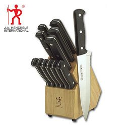 J.A. Henckels International Eversharp Pro 13-Piece Knife Set with Block