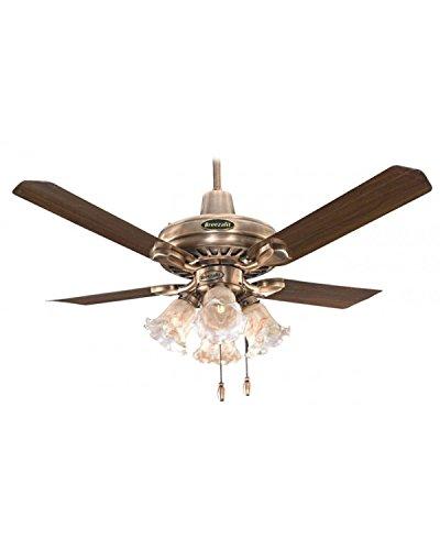 Breezalit Elegance Antique Brass 4 Blade (1200mm) Ceiling Fan