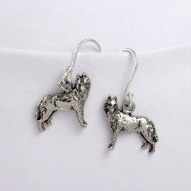 Husky Sterling Silver Earrings