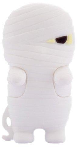 Bone Mummy Flash Drive, White, 4Gb, Dr11031-4W