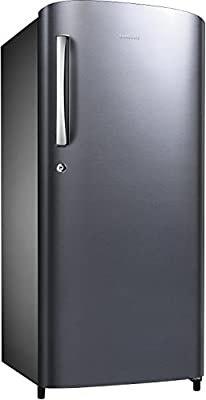 Samsung RR19K172ZS8 Direct-cool Single-door Refrigerator (192 Ltrs, 5 Star Rating, Elegant Inox)