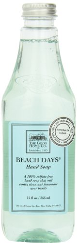 The Good Home Beach Days Hand Soap, 12 Ounce