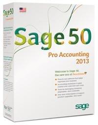 Sage 50 Pro Accounting 2013 (PRO2013RT) -