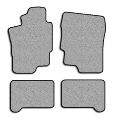 Chrysler Sebring-Hard top Touring Carpeted Custom-Fit Floor Mats - 4 PC Set - Navy (1995 1996 1997 1998 1999 2000 95 96 97 98 99 00)