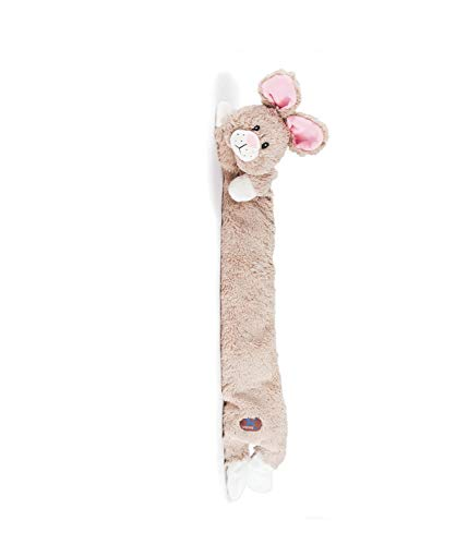 CHARMING Pet Longidudes Plush Dog Toy - Super Long Squeaky Toy - Tough and Durable Interactive Soft Stuffed Toy for Dogs, Rabbit