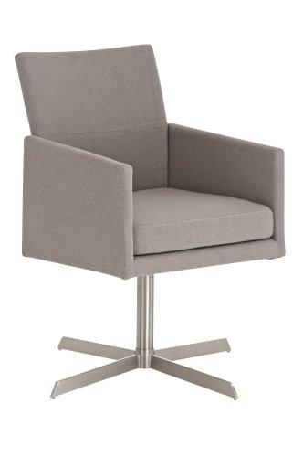 CLP-Edelstahl-Clubsessel-Lounge-Sessel-CUBIC-mit-Stoffbezug-aus-bis-zu-4-Farben-whlen-grau