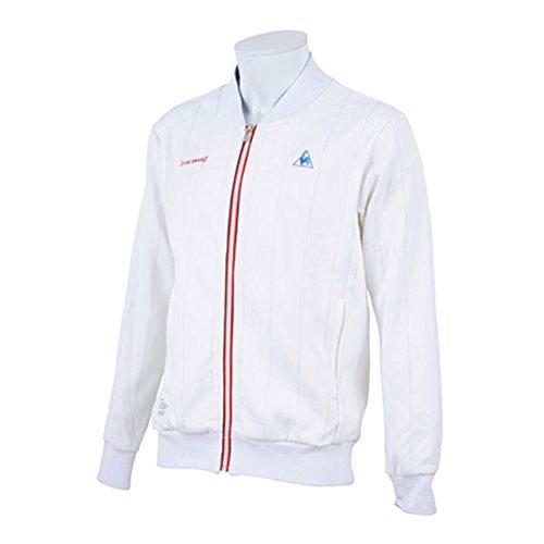 (ルコックスポルティフ)le coq sportif フーデッドスウェットジャケット QL-560243 WHT WHT L