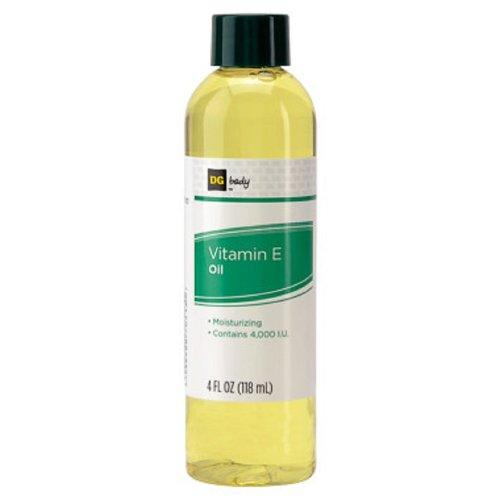 DG Hydratant Huile de vitamine E, 4000 UI 4 oz