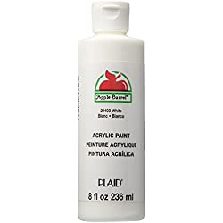 Apple Barrel Acrylic Paint in Assorted Colors (8 Ounce), 20403 White