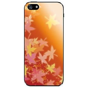 iPhone 5 ケース紅葉(オレンジ)