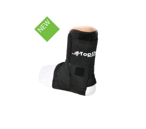 Top Shelf Ankle Stabiliser - effective brace for Ankle Injuries, ankle sprains and strains - medium