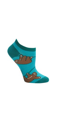 Sock It To Me Sloth Womens Ankle Socks