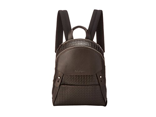 Salvatore Ferragamo Gamma Soft Backpack Caffe
