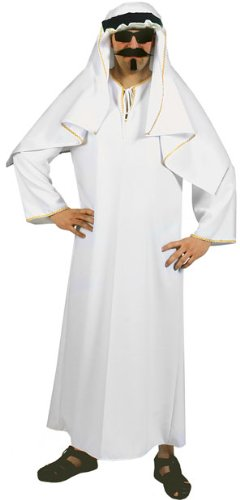 Men's Arabian Shiek Halloween Costume (Size:48)