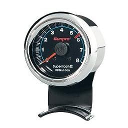 Sunpro CP7908 Mini Super Tachometer II - Black Dial
