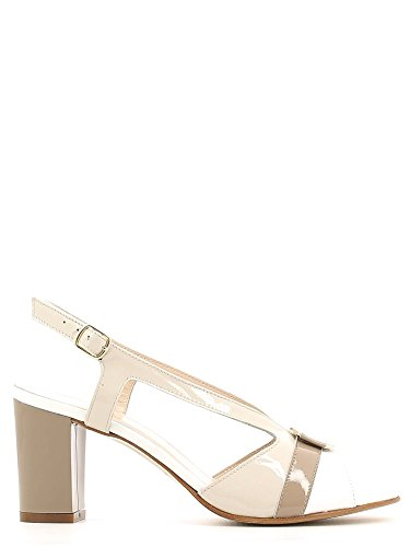 Grace shoes E6493 Sandalo tacco Donna Beige 35