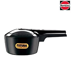 Futura by Hawkins Hard Anodized 5.0 Litre Pressure Cooker from Hawkins by Hawkins