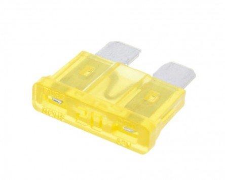 Sicherung Flachstecksicherung 19,2mm 20A gelb