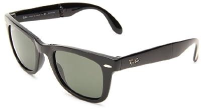 Ray-Ban RB4105 Folding Wayfarer Sunglasses