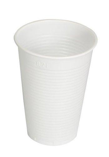 Medi-Inn Lot de 3000 gobelets 0,2 l En plastique Blanc
