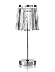 Glass Fall Table Lamp