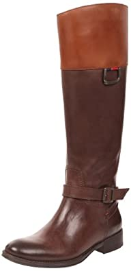 Tommy Hilfiger Women's Hamilton 5 Coffee Bean/Cognac Riding Boots FW56814728 3.5 UK, 36 EU
