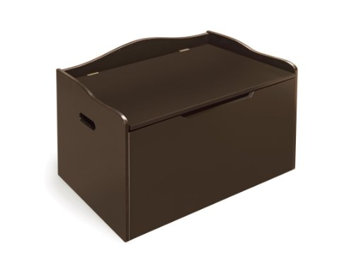 Badger Basket Bench Top Toy Box, Espresso
