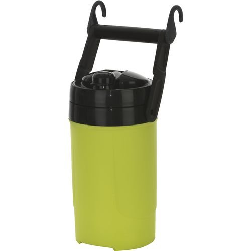 Igloo 1/2 Gallon Sport Neon Yellow Plastic Thermos Water Ice Cooler Jug front-422346