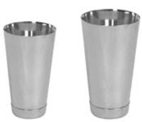 2 Piece/Set Stainless Steel Cocktail Shaker: