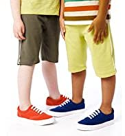 2 Pack Pure Cotton Drawstring Shorts with Stay New™
