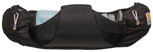Nathan Nathan Women's Series Muse 22-Ounce Horizontal Hydration Waist Pack (Black)