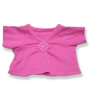 "Pink top with Diamond Pattern - 2048 Fits 15"" - 16"" bears, includes Build a Bear, The Bear Mill, and Stuff your own Animals."