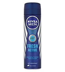 Nivea for Men Fresh Active Deodorant Spray 150ml