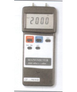 General Tools PM9100HA White Heavy Duty Digital Manometer with RS232 Output - General Tools - GT-PM9100HA - ISBN: B001TOLFXW - ISBN-13: 0681035412183