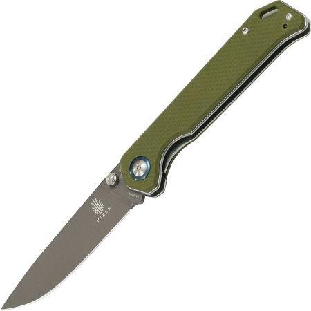 """Kizer Cutlery V4458A2 Model A2 """"Begleiter"""" Vanguard Folding Knife"""