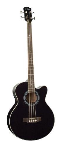 Johnson Jb-24-Bk Deep Body Jumbo Bass, Black