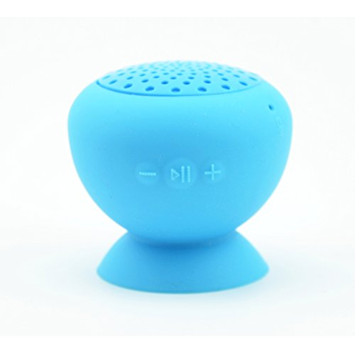 Granvela Miniq Portable Bluetooth Speaker - Great Sound, Water Resistant With Built-In Microphone (Orange)