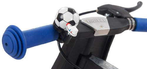 FirstBIKE Soccer Bell, Black and White