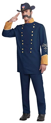 Civil War Union Officer Uniform Plus Size Costume