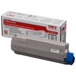 OKI C5850 Toner Cartridge Yield 8000 Pages - Black