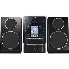 iPod/iPhone対応マイクロコンポーネントシステム(ブラック)[UX-LP55-B] - Victor・JVC