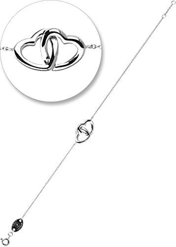 daily-yasmin-braccialetto-consociate-cuore-argento