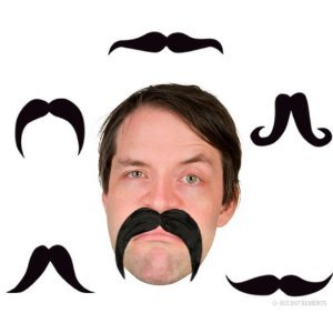 Accoutrements Bendable Party Mustache