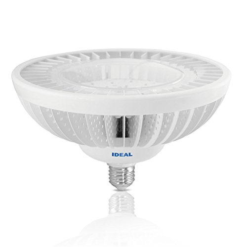 Ideal 49 Watt (200W) Torchier Indoor Up Light Cree Xbd Led - 2900K Reveal Warm - Dimmable - 2610 Lumen - 120 Degree Gradient Flood - White Case