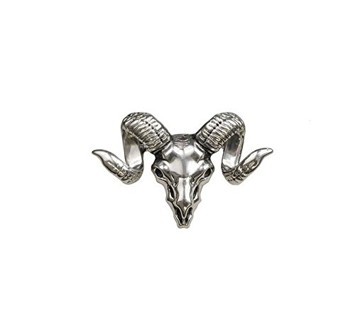 [Men's European and American fashion brooch suit tide male sheep skull brooch fashion personality] (Male Sheep Costume)